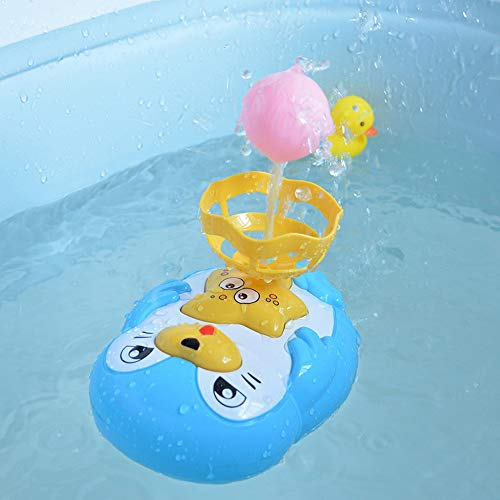 Markc Kinder Automatische Badespielzeug Bad Spaß Cartoon Pinguin Elektrische Wasserspray Spielzeug Jungen Und Mädchen Bad Schwimm Spielen Wasserball 1-4 Jahre Frühkindliche Lernspielzeug