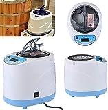 Generador de vapor en casa máquina de fumigación 2L para sauna baño spa tienda de campaña terapia corporal adecuado para cascos, cocina calefacción CE Rohs