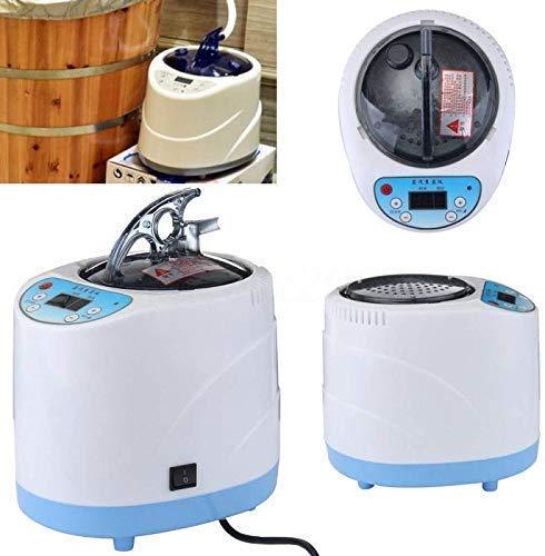 CGOLDENWALL Casa Generador de vapor vapor Máquina de fumigación 2L para sauna baño spa tienda de campaña Terapia corporal Adecuado para barricas, calefacción de cocina CE Rohs (220V)