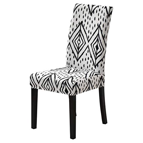 LLAAIT Stretch Floral Print Chair Cover Multifunction Spandex Elastic Chair Cover for Home Dining Room Universal Seat Protector