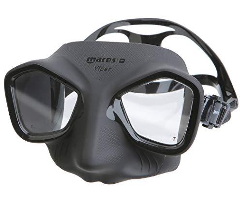 Mares Erwachsene Mask Viper Taucherbrille, Negro