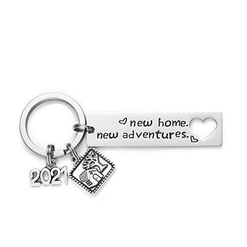 Homewarming Gifts - Portachiavi per idea regalo per marito, moglie Medium 2021