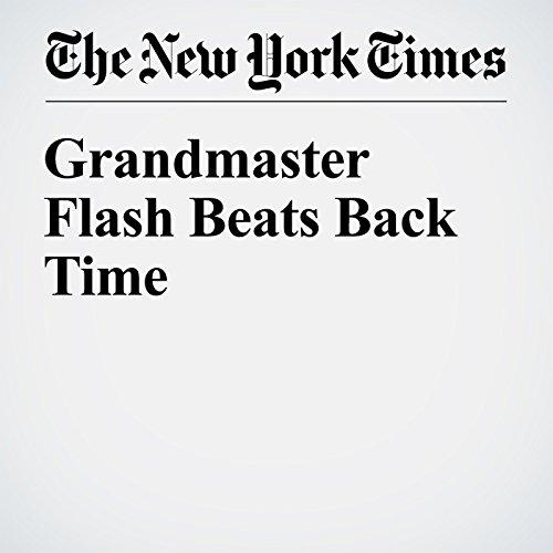 Grandmaster Flash Beats Back Time audiobook cover art