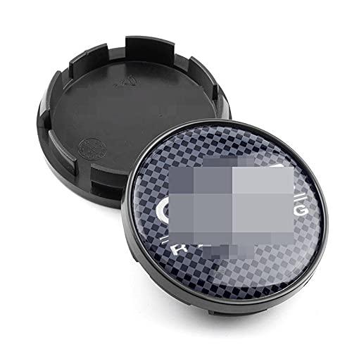 1 pieza de 60 mm 56 mm compatible con tapacubos OZ Racing compatible con llantas de centro de coche Hubs de cubierta compatible con Fabia Yeti Rapid Superb Rial Imola Trims Emblem (Color: J)