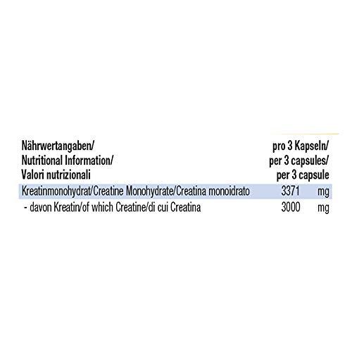 Weider Pure Creatine, 100 Kapseln (1 x 124g) - 7