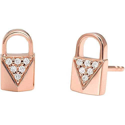 Michael Kors Damen-Ohrstecker 925er Silber One Size Rosé 32002510