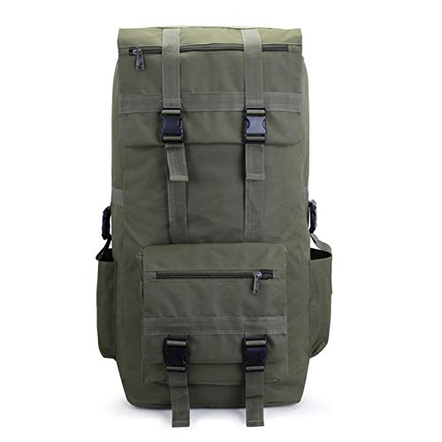 Duffle Bag 100l Men's Vintage Travel Bags Large Capacity Canvas Bag Portable Luggage Daily
