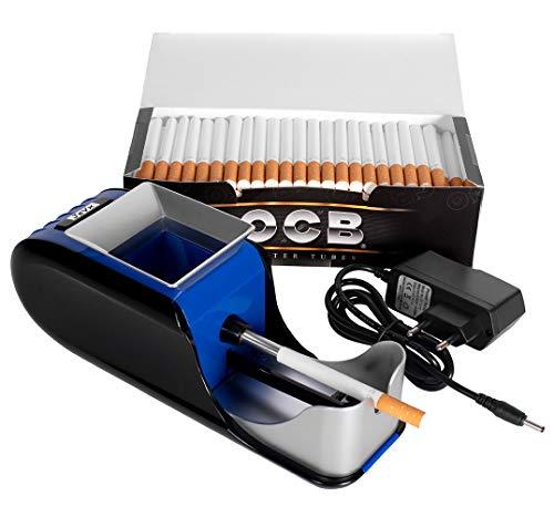 JeVx Maquina Liadora de Tabaco + 200 Tubos con Filtro OCB -...