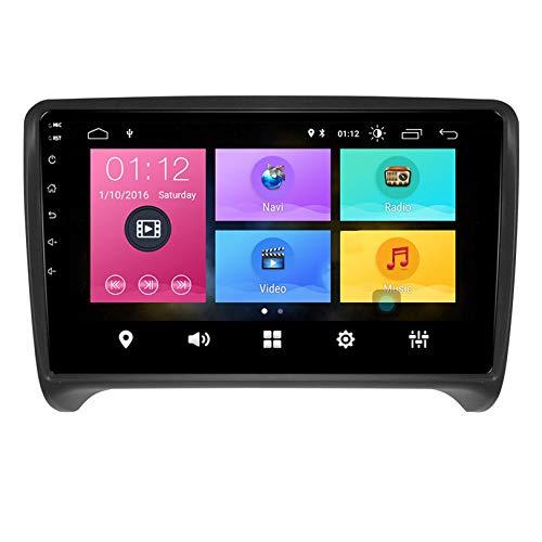 JALAL Android 9.0 Reproductor Multimedia para automóvil Sistema GPS Soporte de Radio Reproducción automática de automóvil/OBD / 4G WiFi/Dab/Soporte de Video 4K, para TT 2008-2014, S2
