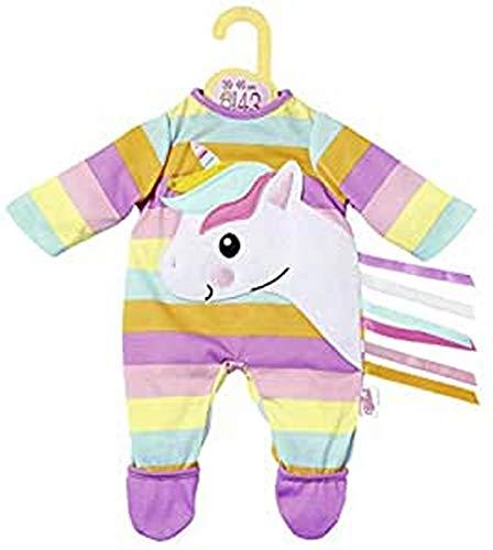 Zapf Creation 870501 Dolly Moda Einhorn Strampler, Puppenkleidung 39-46 cm