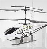 Pkfinrd Aleación 2.4G Helicóptero RC al Aire Libre Helicóptero Helicóptero Remoto para niños Altitud Hold Hobby RC Avión con 2 baterías Gyro y luz LED 3.5 Canales Micro (Size : 2battery Packs)