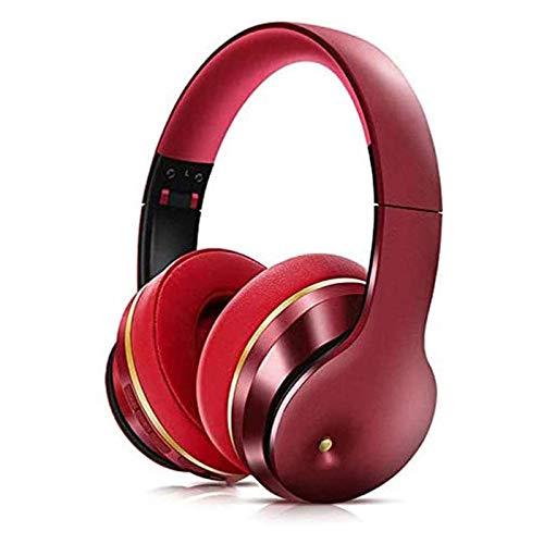 HKJZ SFLRW Auriculares de cancelación de Ruidos, Auriculares Bluetooth inalámbricos para Orejas, Bajos Profundos, Auriculares de 10h playime para Adultos, TV, Clase en línea, Oficina en casa