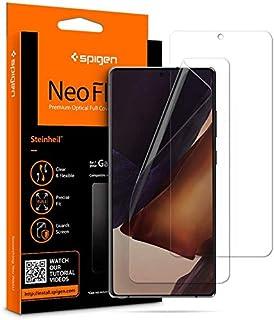 واقي شاشة NeoFlex من Spigen مصمم لهاتف Samsung Galaxy Note 20 [عبوتين] - جراب ملائم