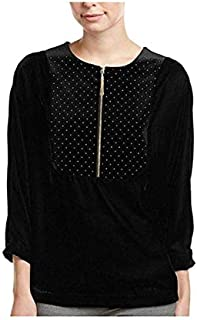 T TAHARI Casual Long Sleeve Pullover Top For Women