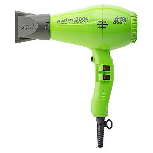 Parlux 3800 - Secador de pelo profesional de cerámica con iones, respetuoso con el medio ambiente, color verde