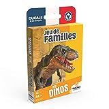 Ducale, el Juego francés 7 Familles Les Dinos 108597898 - Juego de Cartas para niños, diseño de Dinosaurios