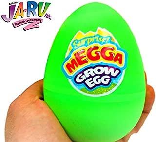 JA-RU Magic Grow Hatching Easter Eggs (Pack of 1) Mermaid or Unicorn Surprise Eggs   Item #1226-1