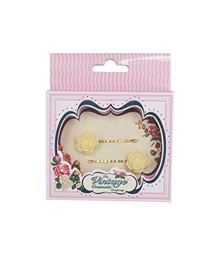 The Vintage Cosmetic Company 2 Grande Fleur Crème épingles
