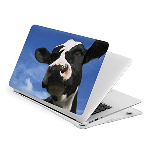RYHT Tornado Flying Cow Waterproof Pv Laptop Protector, Hard Shell Case with Bottom Cover Compatible with MacBook Touch15