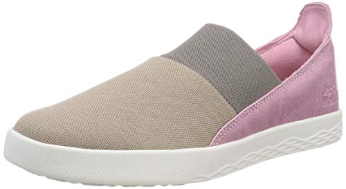 Jack Wolfskin Damen Auckland Low Slipper, Mehrfarbig (Moon Rock 5041), 39 EU