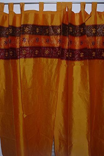 Marrakech Accessoires Orientalischer Vorhang Schlaufen Schal Bestickt 110 cm x 235 cm (1 Stück) - 905306-0022