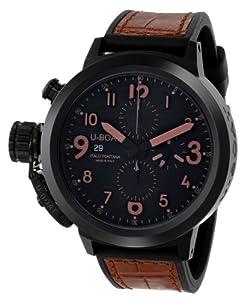 U-Boat Men's 7094 Flightdeck Analog Display Swiss Automatic Brown Watch image