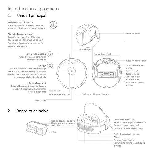 Xiaomi Roborock Saugroboter mit Wischfunktion Bild 2*
