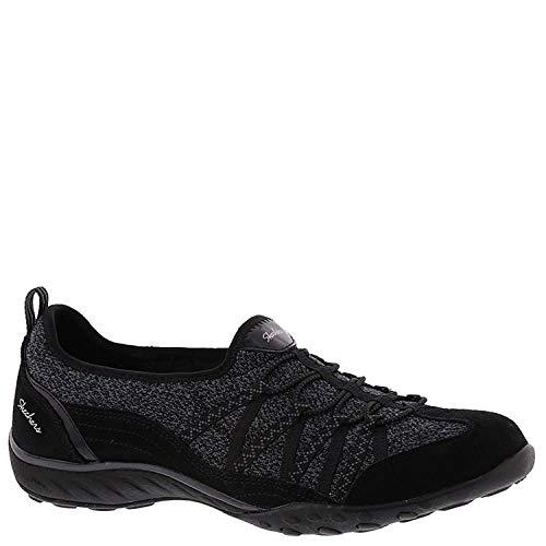 Skechers Damen-Sneaker mit süßem Sound, atmungsaktiv, Schwarz (schwarz), 36 EU