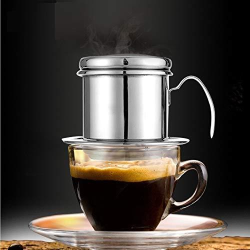 Edelstahl Vietnam-Kaffeetropffilter Kaffeebereiter Tropfkaffeefilter