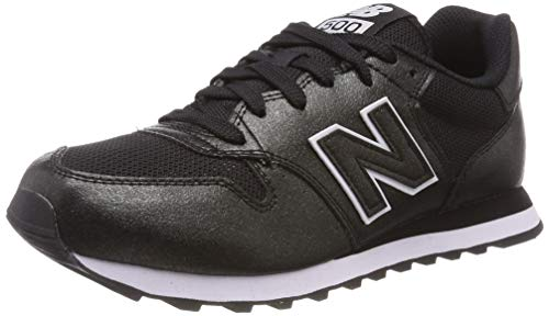 New Balance Gw500v1, Zapatillas de Deporte para Mujer, Negro (Black/Black Metallic Mbb), 37 EU