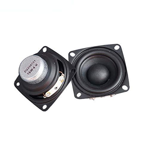 Wnuanjun 2 stücke 2 Zoll Full Range Tragbare Lautsprecher Sound Bar 4 Ohm 8 Ohm 15w Outdoor Lautsprecher DIY HiFi Boombox Heimkino 5.1 Lautsprecher (Größe : 8ohm)
