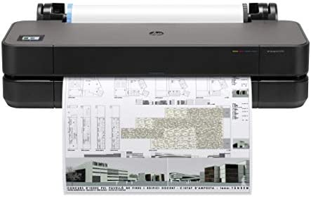 HP DesignJet T210 Large Format Compact Wireless Plotter Printer 24 with Modern Office Design product image