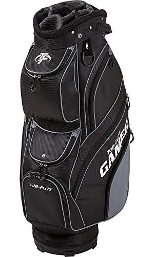 Top Flite Mens Gamer Golf Cart Bag (Black)