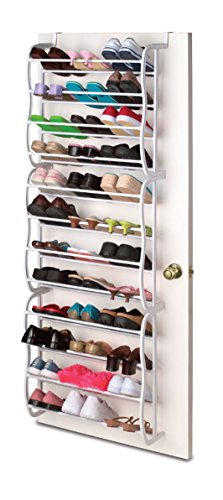 Sunbeam Door' 36-Pair Shoe Rack [Misc.], White