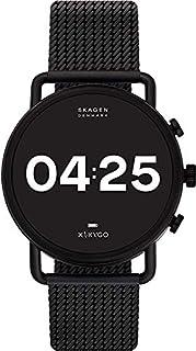 Skagen Orologio Digitale Quarzo Uomini con Cinturino in Acciaio Inox SKT5207