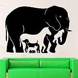 yaofale Diseñe Pegatinas de Pared de colección de Animales murales interesantes, utilizados para el hogar Dormitorio Sala de Estar decoración de Arte Papel Tapiz móvil