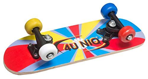 4uniq Unisex Jugend Mini-Skateboard, Bunt, 45x13cm