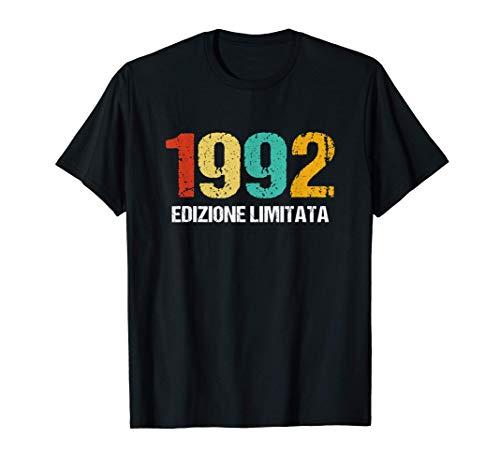 Uomo 1992 Edizione Limitata Regalo Compleanno Uomo 28 Anni Maglietta