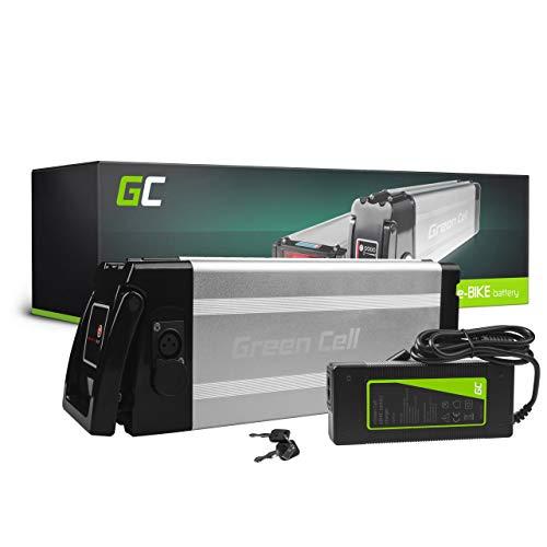 Green Cell GC® Bateria Bicicleta Electrica 48V 11Ah Silverfish Li-Ion Batería + Cargador