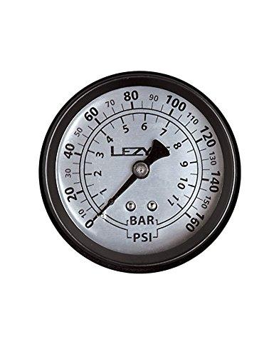 LEZYNE Pompe de vélo 160 PSI Noir/argenté 1,5 cm