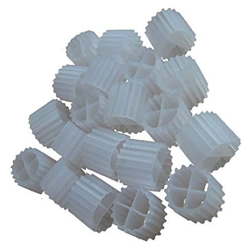 K1 Filter Media PREMIUM GRADE Moving Bed Biofilm Reactor (MBBR) for Aquaponics • Aquaculture • Hydroponics • Ponds • Aquariums by Cz Garden Supply (1 Gallon)