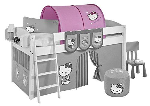 Lilokids Tunnel Hello Kitty Rosa - für Hochbett, Spielbett und Etagenbett