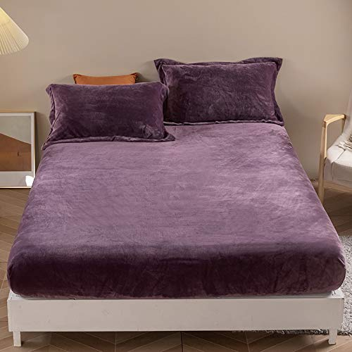 haiba Juego de ropa de cama extra grande, súper suave, lavable a máquina, sin arrugas, transpirable 180 x 200 x 25 cm.