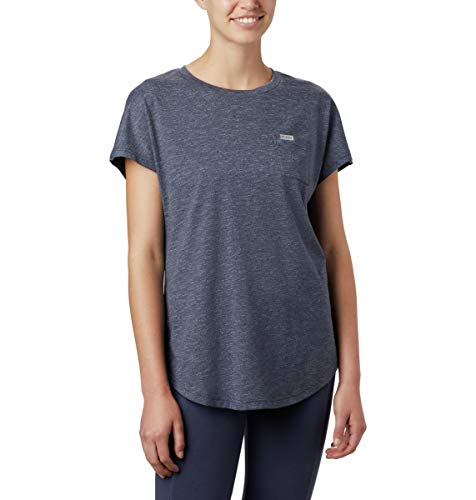 Columbia Damen Cades Cape T-Shirt, Nocturnal, 2X