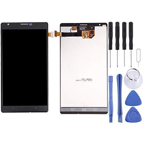 HUANGCAIXIA Sostituzione dello Schermo LCD del Telefono Cellulare Schermo LCD e Digitizer Assemblea Completa per Nokia Lumia 1520 (Colore : Black)