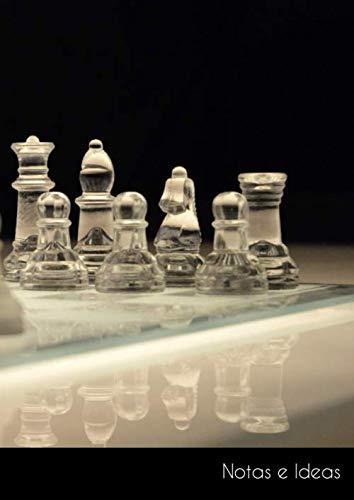 Notas e Ideas: Cuaderno / diario de bala grande tablero de ajedrez...