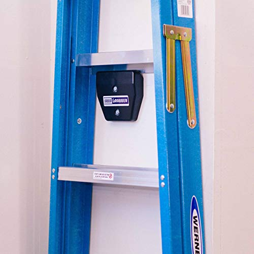 Ladder Grabber Ladder Storage Hook, the Best Garage or Shed Storage Solution for Your Organizational and Cleaning Needs