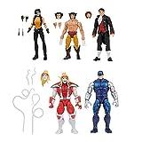 Marvel Legends Series Wolverine 5-Pack, Includes Marvel's Omega Red, Marvel's Cyber, Marvel's Callisto, Jason Wyngarde, 13 Accessories