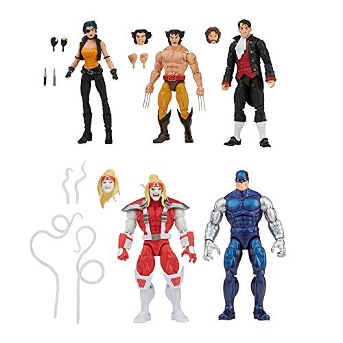 Marvel Legends Series Wolverine 5-Pack, Includes Marvel