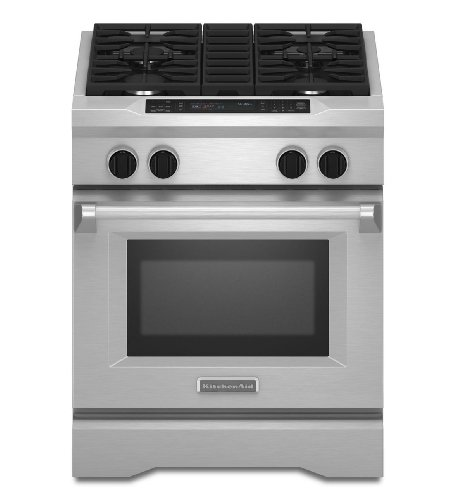 Kitchenaid KDRS407VSS Commercial-Style Dual Fuel Range